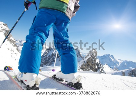 Let's start skiing