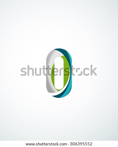 Abstract letter d icon stock vector 142330843 shutterstock for Modern cleaning concept