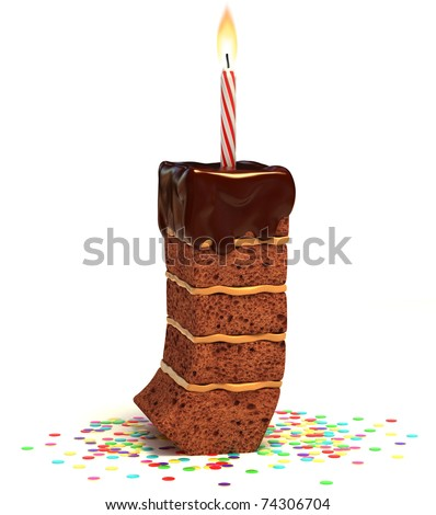 Re Put Lit Candle On Cake