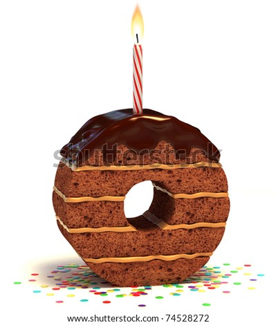 Fake Birthday Cake Display