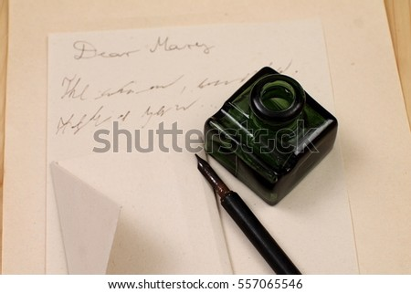 Writing A Letter Stock Images RoyaltyFree Images  Vectors