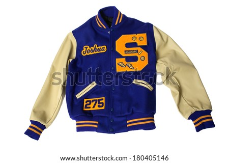 Lettermans Jacket - stock photo