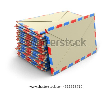 letters (clipping path included)
