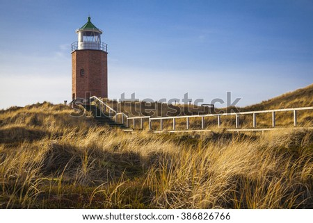 Leuchtfeuer Kampen Lighthouse at Sylt