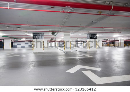 Level 1A Parking - stock photo