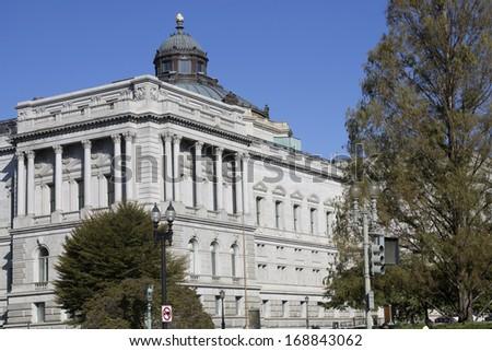 Library of Congress in Washington DC  - stock photo