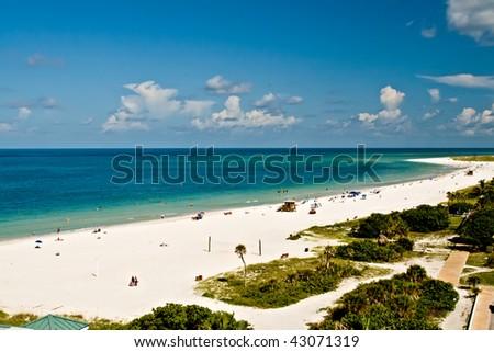 Lido Beach, Sarasota, Florida - stock photo