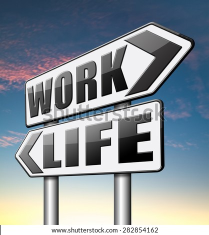 life work balance importance of career versus family leisure time and friends avoid burnout mental health stress free test  - stock photo