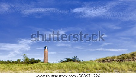 Lighhouse on the baltic sea