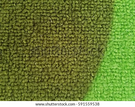 Light And Dark Green Carpet
