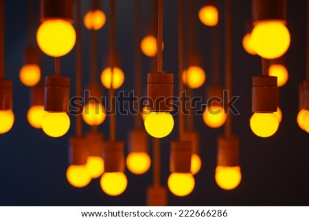 light and hope - stock photo