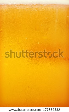 light beer texture - stock photo