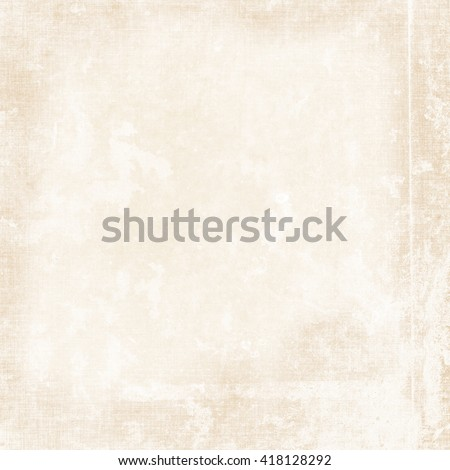 light beige old paper texture background - stock photo