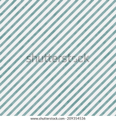 Light Blue and White Striped Pattern Repeat Background that is seamless and repeats - stock photo