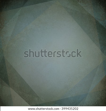 light blue frame drawing grunge - stock photo
