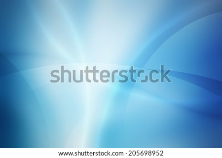 light blue gradient background with curve and line - stock photo