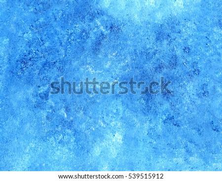 Light Blue Sly Handmade Acrylic Sponge Painted Canvas Background