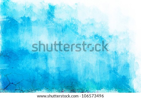 light blue texture used as background. - stock photo