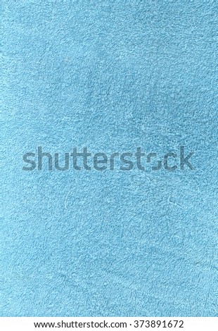 Light blue towel texture. Background and texture. - stock photo