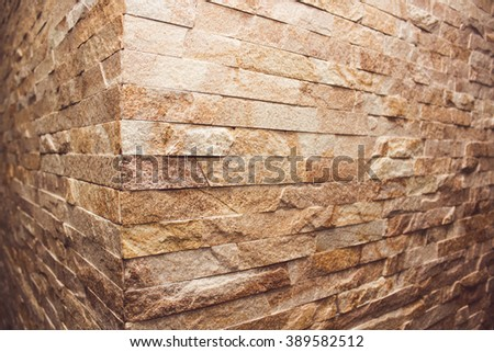 Light brick wall texture, background