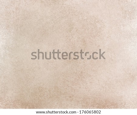 light brown background white color tones, blotchy old wall paint style background,  vintage grunge background texture, tan beige web design, graphic art background image, photography studio backdrop - stock photo