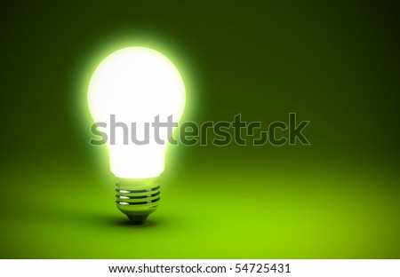 Light bulb - stock photo