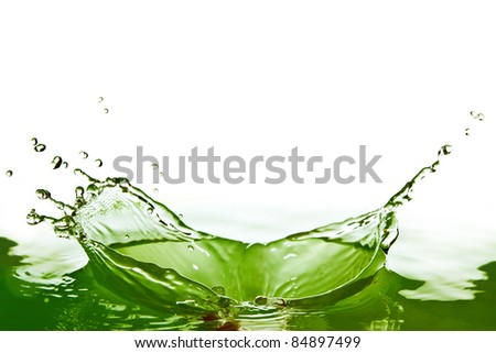 Light bulb with green tree inside, reclycle go green concept - stock photo