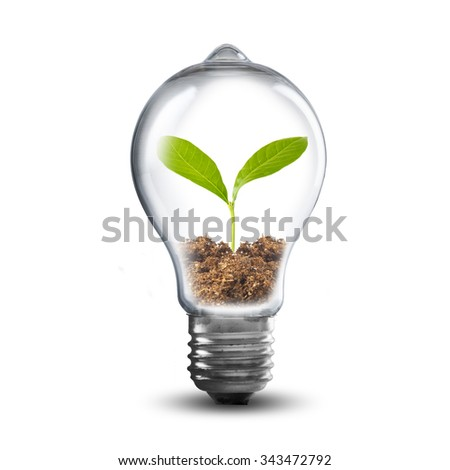 Go green design vector illustration eps stock vector for Soil and green