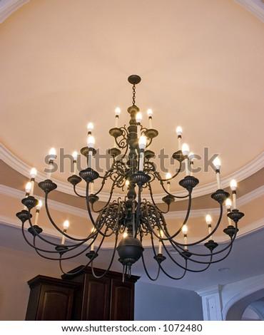 Light fitting - stock photo