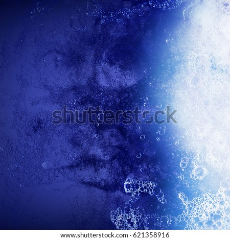 Light from water, abstract background with water