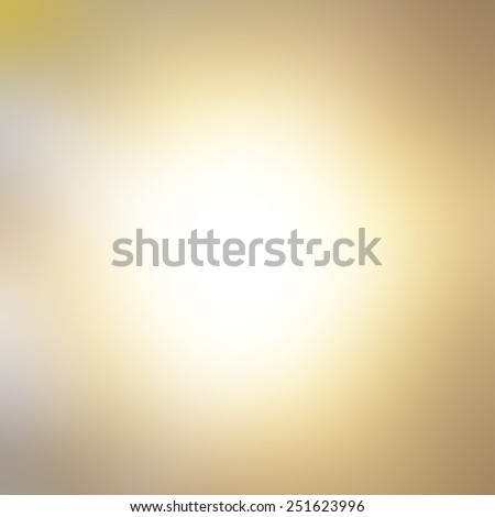 Light gold gradient abstract background - stock photo