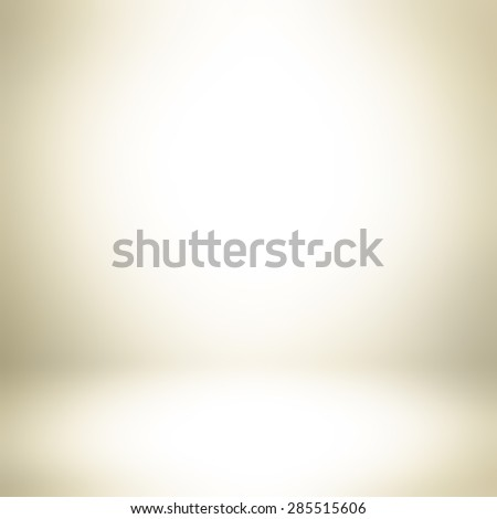Light golden brown gradient abstract background - can be used for display or montage your products - stock photo