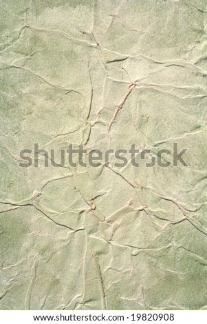 Light green color painted background. Art is painted by photographer. - stock photo
