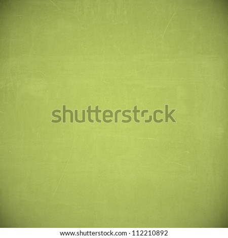 light green grunge background paper texture - stock photo