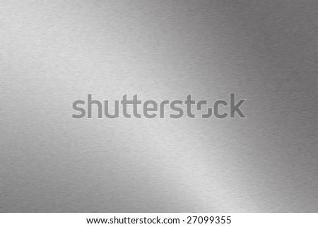 Light grey metallic background texture - stock photo