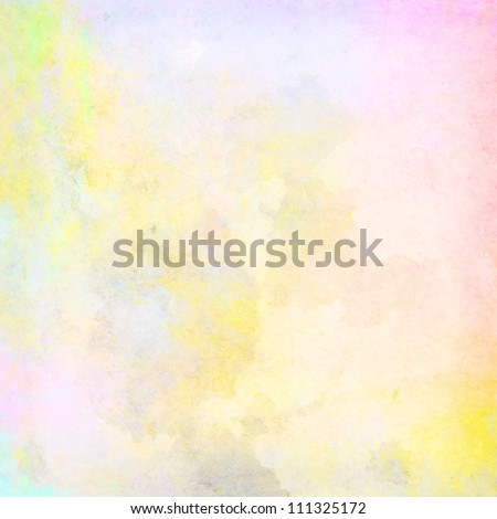 light grunge colored paint background texture - stock photo