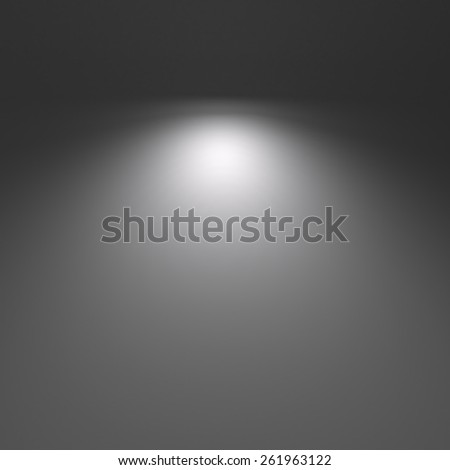 Light in the dark  background - stock photo