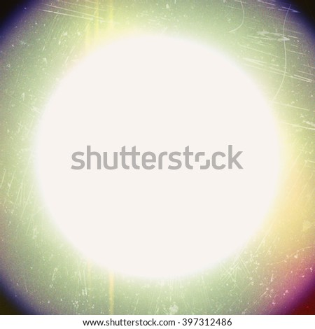light leaks  - stock photo
