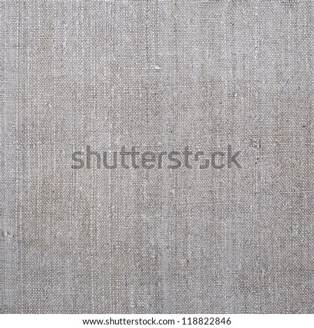 Light linen texture background - stock photo