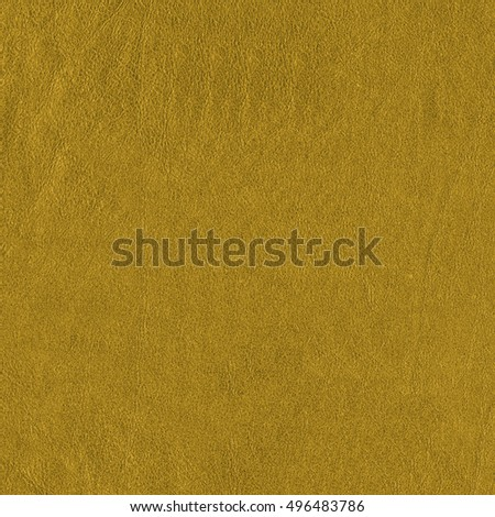 light mustard-color leather texture as background for Your design-works