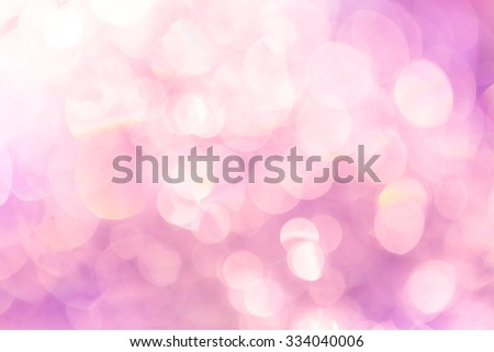 Light pink bokeh abstract background - stock photo