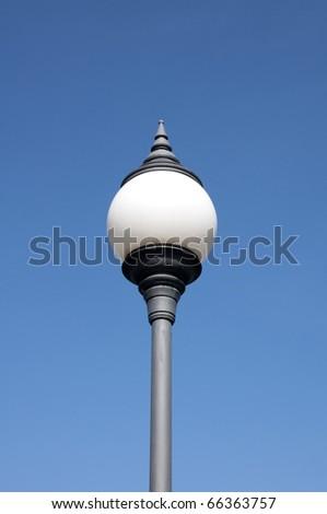 Light poles. - stock photo
