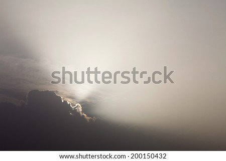 light rays and other atmospheric effect
