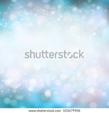 Light silver abstract freshness background with white ice tinsel - stock photo