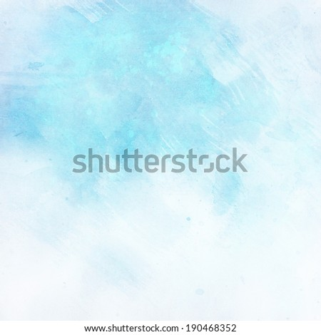 light sky blue grunge background texture paper - stock photo