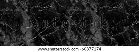 Light soft black effect marble texture ( high res.) - stock photo