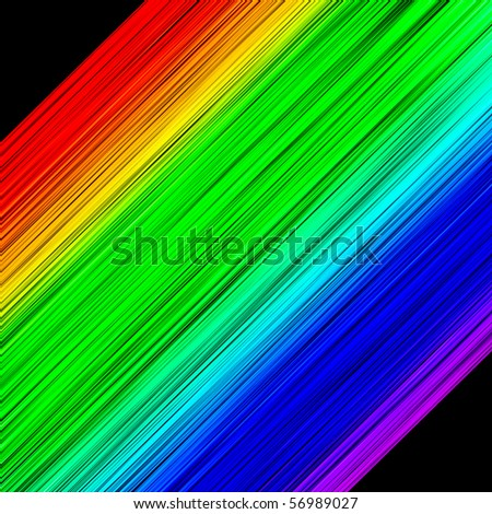 Light spectrum - stock photo