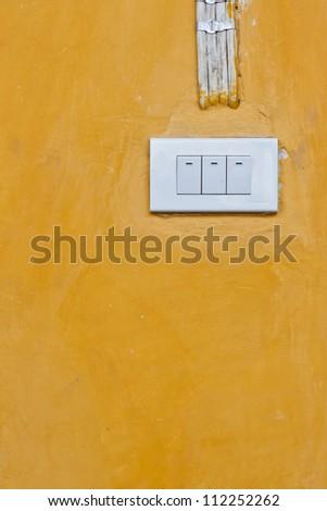light switch - stock photo