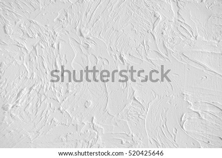 Light textured plaster as a background