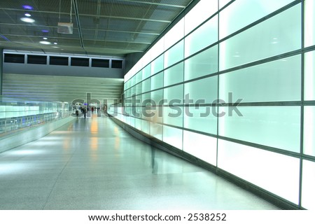 light wall - stock photo